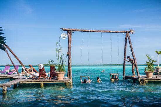 Los mejores restaurantes de bacalar for Hotel luxury en bacalar