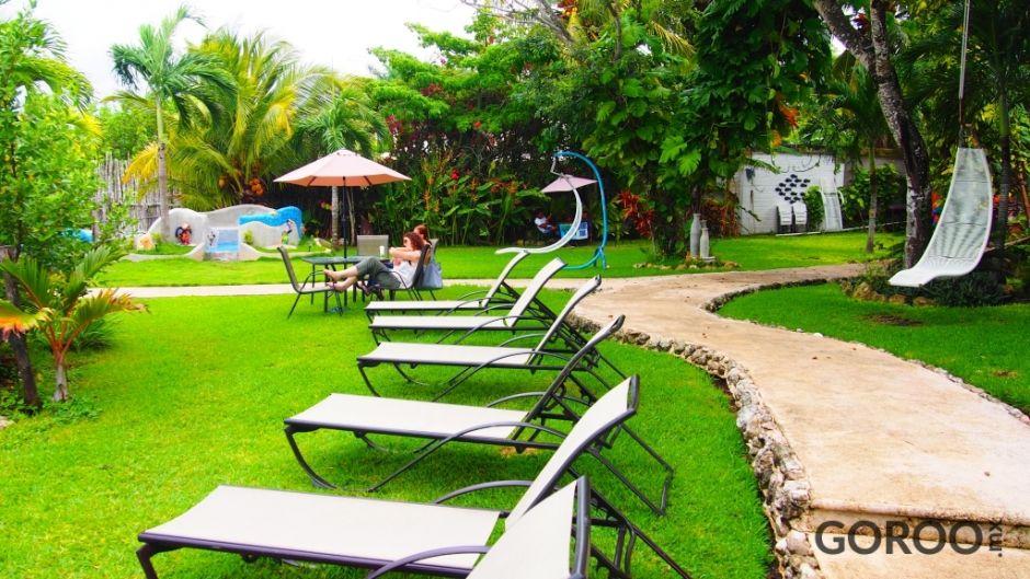 Visitamos hotel los aluxes en bacalar for Hotel luxury en bacalar