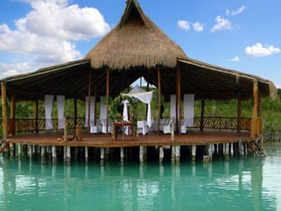 Akal-ki-Riviera-Maya-palapa-laguna-dulce