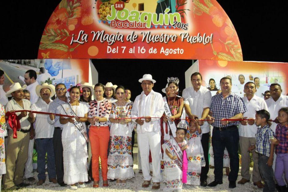 Cuando se efectúan La Feria de San Joaquín de Bacalar