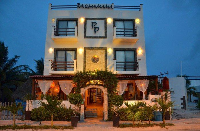 Hoteles baratos en Mahahual pachamama