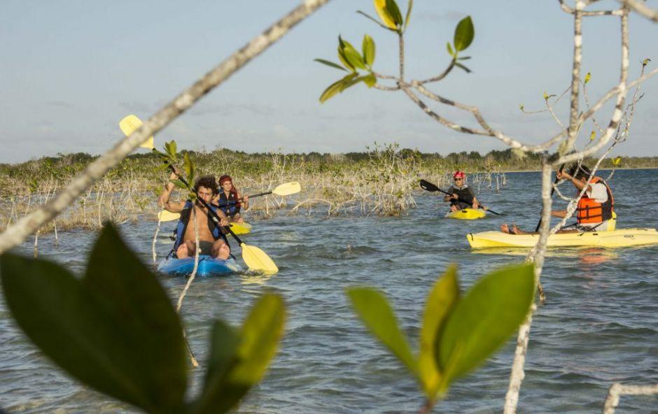 tours en Bacalar kayak