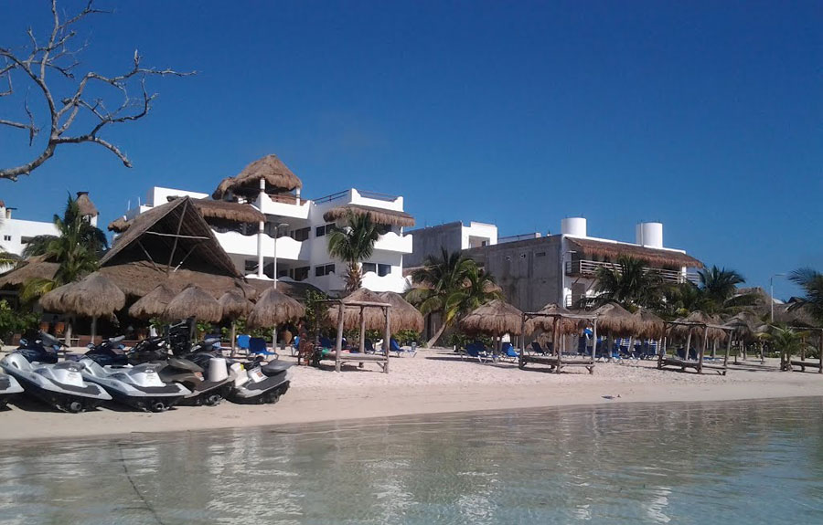 C mo llegar a mahahual ent rate y ahorra for Hotel luxury en bacalar