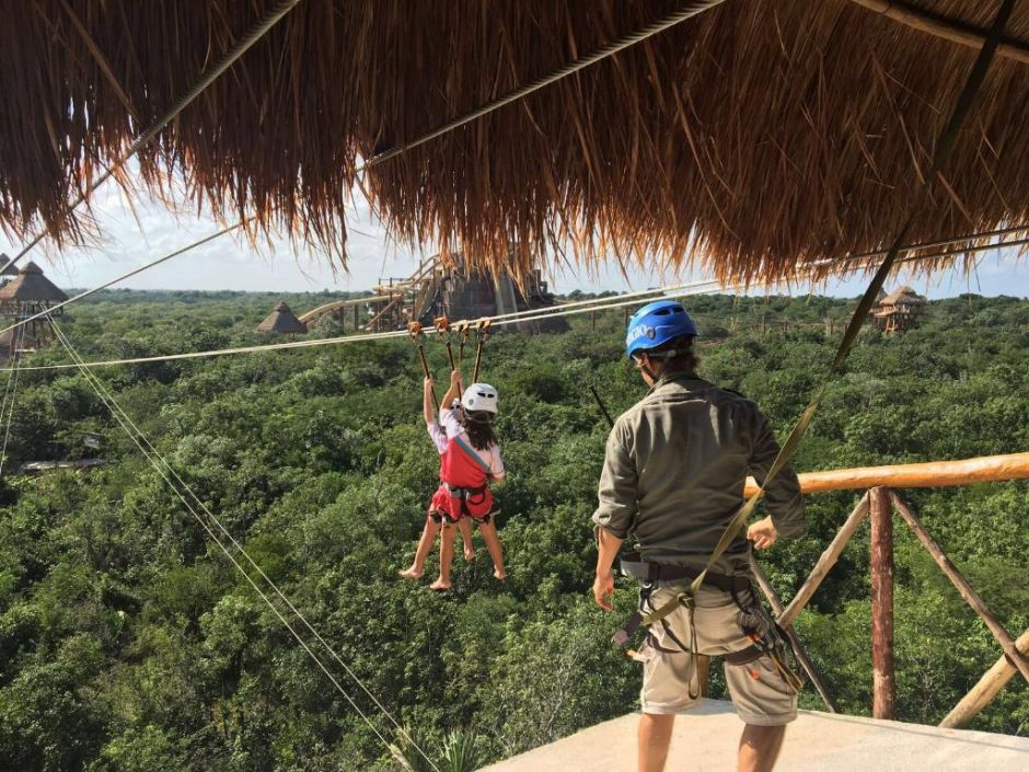 Descubriendo las atracciones del Parque Acuático Maya Lost Mayan Kingdom en Mahahual