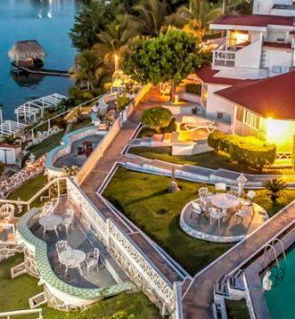 Hotel Laguna en Bacalar