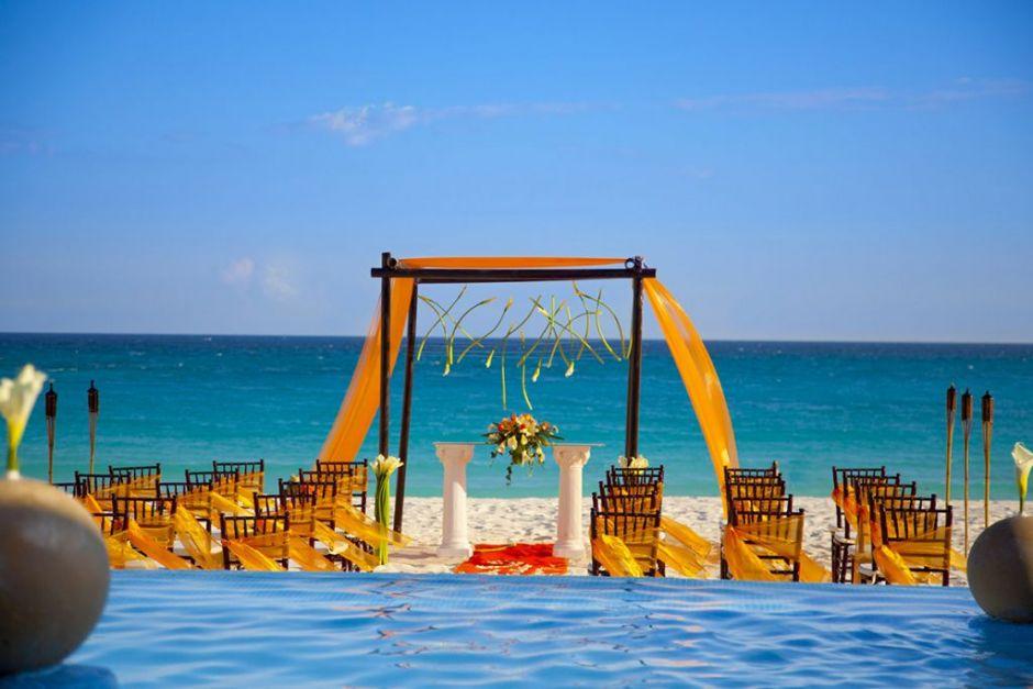 Krystal Grand Punta Cancún boda