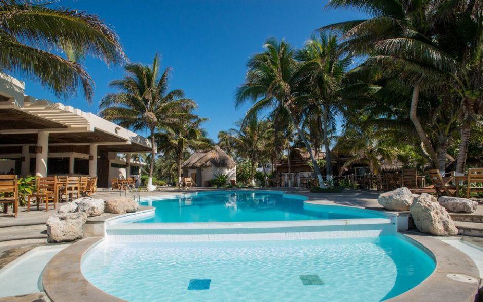 Paamul Hotel. Playa del Carmen, México