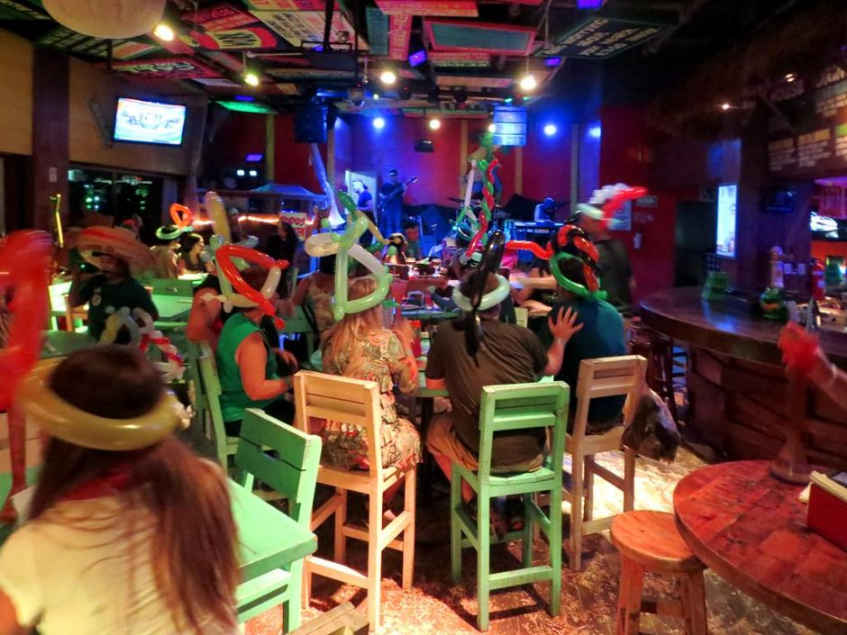 Señor Frogs Bar