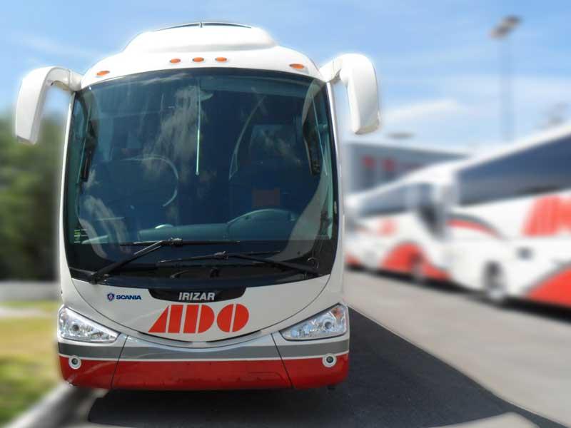 Autobuses ADO con sede en Cancún