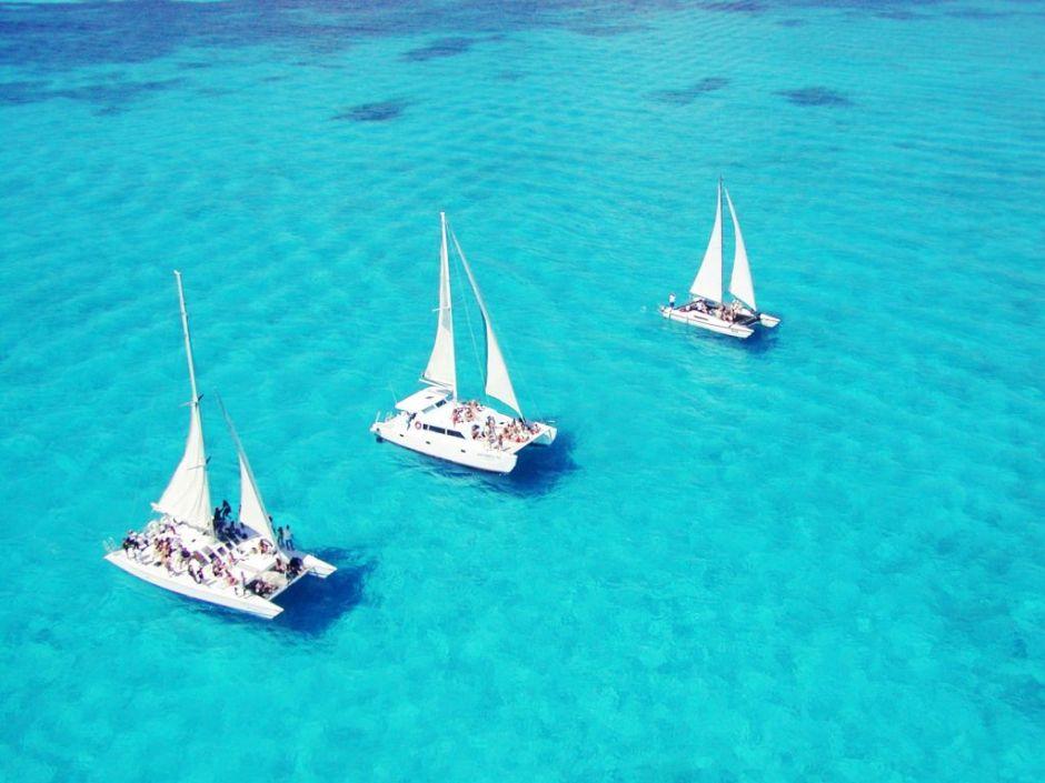 Cancun Tour en Catamaran