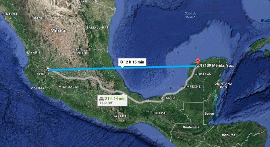 Guadalajara- Merida