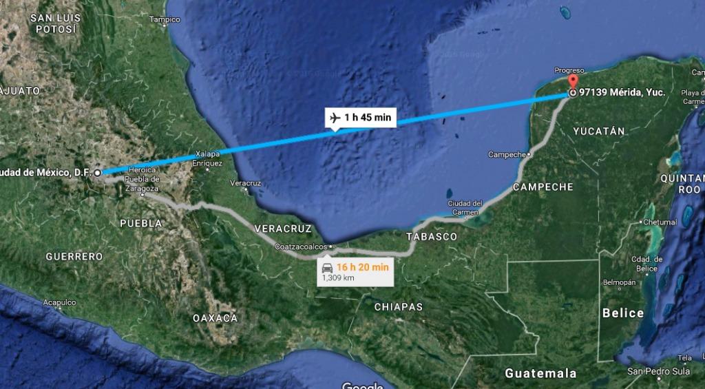 Mexico DF Merida