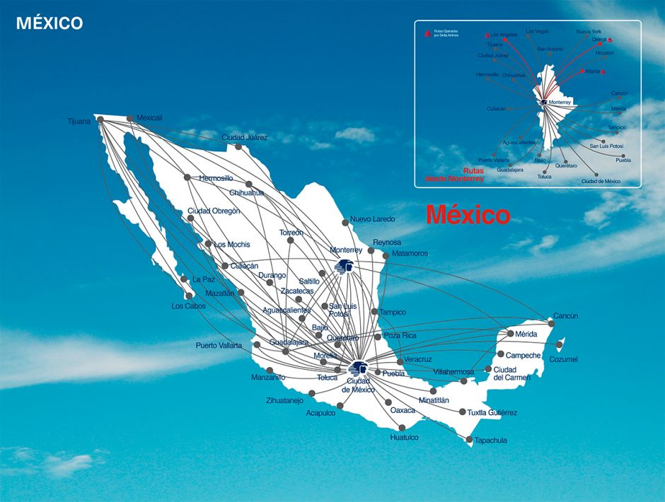 Rutas mexico