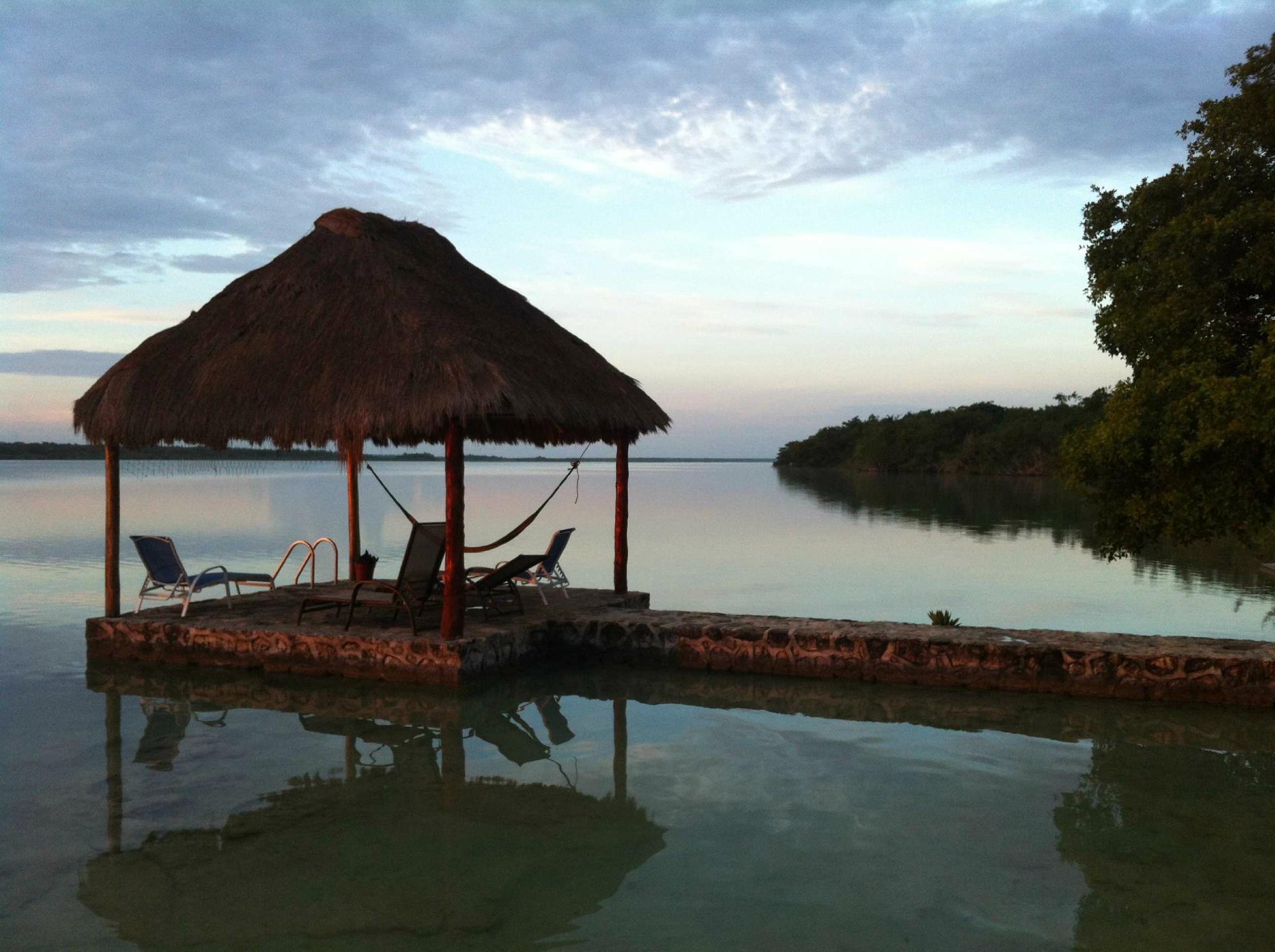 Visitamos hotel lagoon resort en bacalar for Hotel luxury en bacalar