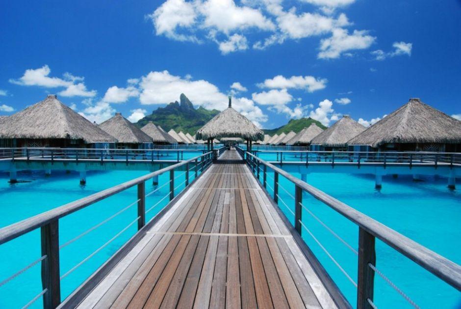 Bora Bora Bungalows 4k Hd Desktop Wallpaper For Wide: Visita Los Bungalows En La Riviera Maya