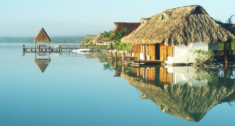 Todo sobre la laguna de bacalar for Hotel luxury en bacalar